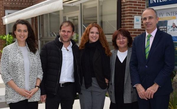 342031e5 6494 479f 9297 1b3e7ac5c2b9 Representantes de la Università Europea di Roma visitan la UFV