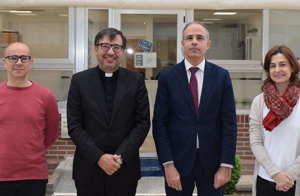 5a480d18 c979 48f5 b89b 77ac604d4f49 El rector de la Universidad Católica del Uruguay visita la UFV