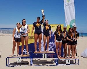 60535321 2291915751025633 8758868656617684992 o Ania y Sibi, alumnas de la UFV, obtienen la plata en el Campeonato de España Universitario de Voley Playa