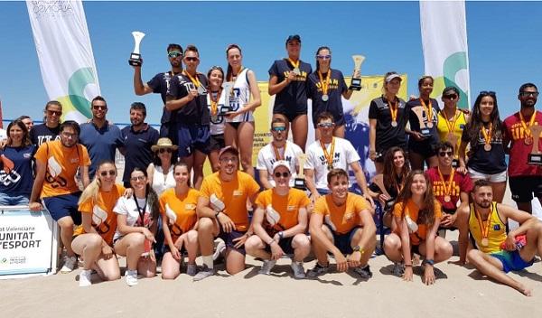 60913147 2291915817692293 4996084040936194048 o Ania y Sibi, alumnas de la UFV, obtienen la plata en el Campeonato de España Universitario de Voley Playa