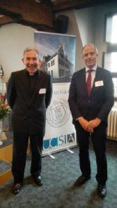 %name La UFV acude a la reunión de la Federación de Universidades Católicas Europeas, celebrada en Amberes
