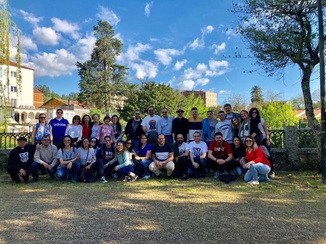 Caldas de reis Easy Resize.com  El Vicerrectorado de Calidad y Transformación Organizacional peregrina a Santiago