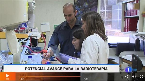 Captura Almudena Chaves Pérez, alumni de la UFV, parte de la investigación de CNIO en la lucha contra el cáncer