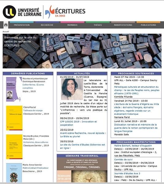 Elisa de la Torre Elisa de la Torre, coordinadora de espacios de los grados en Diseño y Bellas Artes y Alumni UFV, está realizando una estancia de investigación en la Universidad de Lorraine