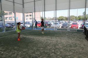 Exhibición padel 300x200 La Universidad Francisco de Vitoria (Madrid) presenta el programa UFVDeporte para acompañar a los alumnos para que puedan conciliar su vida académica y deportiva