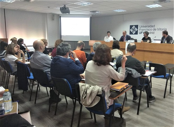 %name El Vicerrectorado de Internacionalización organiza una mesa redonda sobre la digitalización de la movilidad Estudiar en Universidad Privada Madrid
