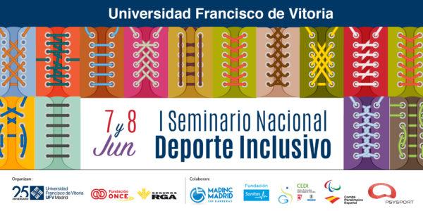 TwitterDepInclusivo 1 e1559203958479 I Seminario Nacional Deporte Inclusivo CAFyD UFV Estudiar en Universidad Privada Madrid