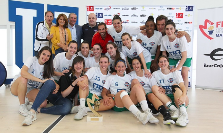 baloncesto El equipo femenino del Club de Baloncesto Pozuelo UFV asciende a Liga Femenina 2 Estudiar en Universidad Privada Madrid