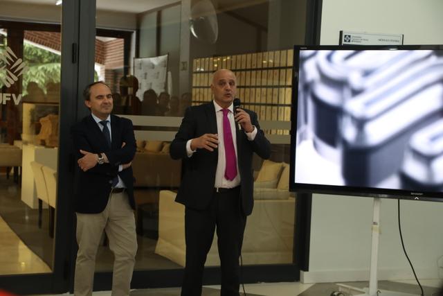 expo 25a 5 El Rector, Daniel Sada, inaugura la exposición del 25 Aniversario UFV