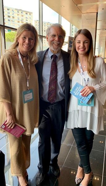 %name Mara Sánchez Benito y Sonia García Merino asisten al World Leadership Forum en Barcelona