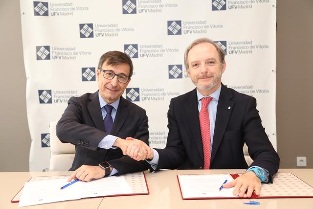 fundacion lopez quintas ufv La Universidad Francisco de Vitoria renueva el convenio con la Fundación López Quintás