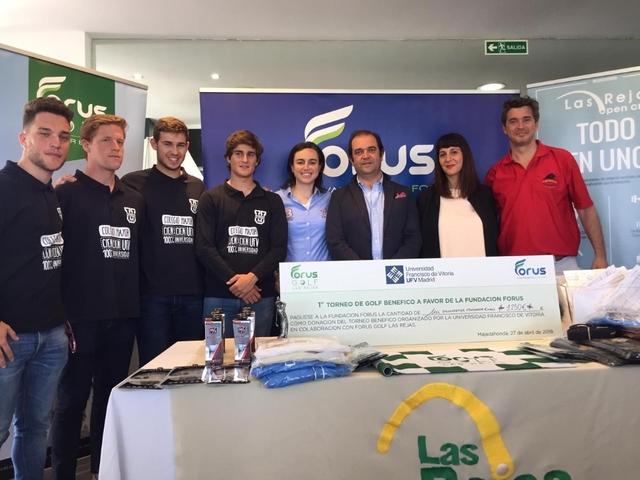 golf ufv2 Alumnos de CAFYD organizan un torneo de golf a beneficio de la Fundación Menudos Corazones