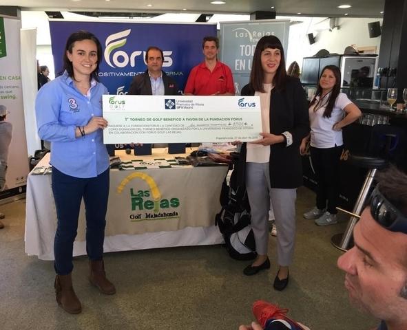 golf ufv3 Alumnos de CAFYD organizan un torneo de golf a beneficio de la Fundación Menudos Corazones