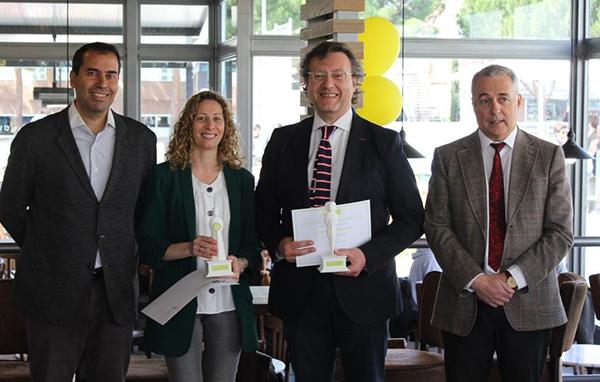 mind on Los investigadores Carlos Zaragoza y María del Mar Martín obtienen el I Premio de Patentes entregado por la UFV Estudiar en Universidad Privada Madrid