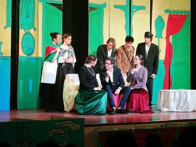 teatro ufv2 2 Los dos grupos de teatro de la UFV comienzan su gira
