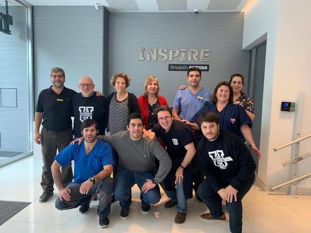FEMEBA ufv El Centro de Simulación UFV colabora con el Centro de Simulación INSPIRE FEMEBA en Argentina