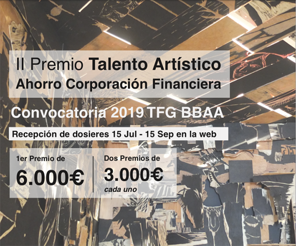 II Premio Talento Artistico Abierta la convocatoria del II Premio Talento Artístico de Ahorro Corporación Financiera Estudiar en Universidad Privada Madrid
