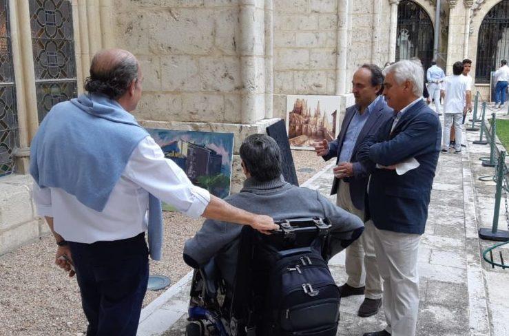 IMG 20190623 WA0002 1 1024x498 1 e1563173411135 Pablo López Raso, jurado del 24º Premio AXA de Pintura Catedral de Burgos 2019