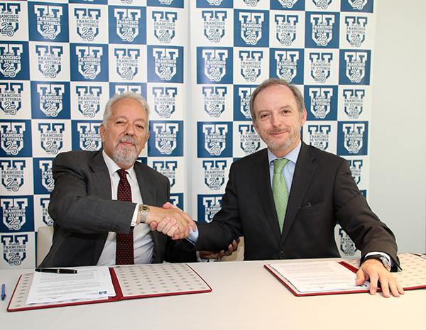 IMG 8913 Dos másteres del Colegio de Aparejadores de Madrid tendrán la titulación de la Universidad Francisco de Vitoria