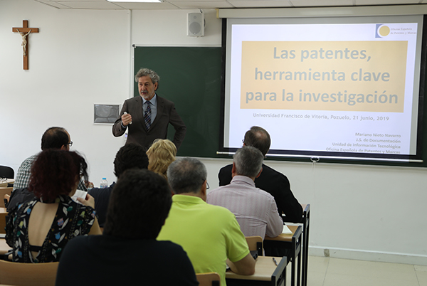 IMG 9163 La OTRI organiza una jornada divulgativa sobre patentes para la comunidad universitaria