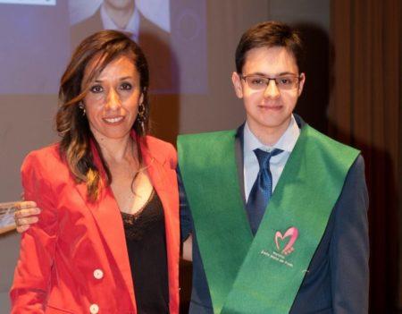 Javier Montero Javier Montero Martín, con un 13,9 en Selectividad, estudiará en la UFV
