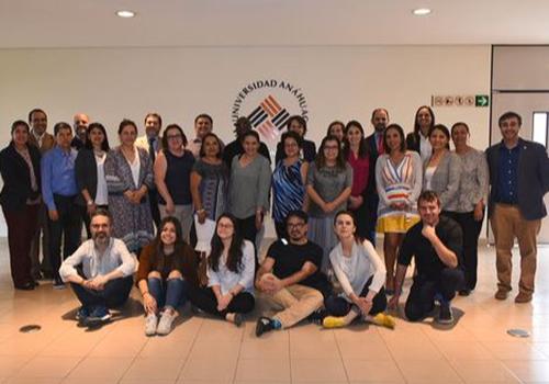%name David García, Jorge Martínez y Caridad Mailyn realizan una estancia de investigación y docencia en la Universidad Anáhuac de Puebla
