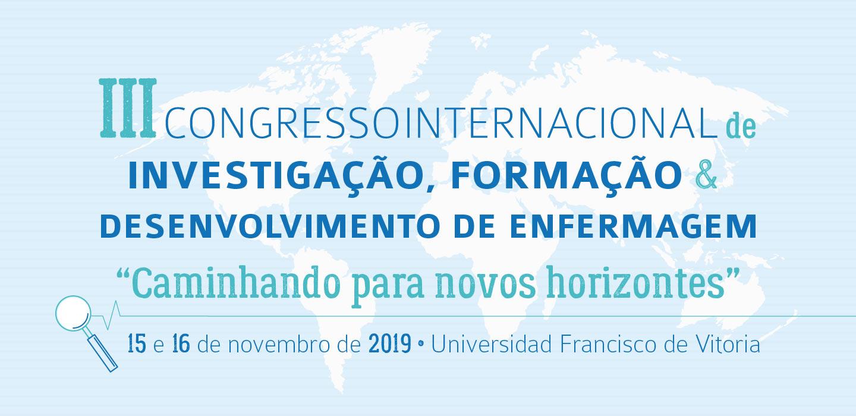 cabecera web portugues CONGRESSO INTERNACIONAL DE ENFERMAGEM Estudiar en Universidad Privada Madrid