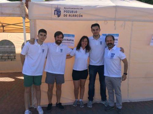carrera 1 e1560349573161 El Grado en Fisioterapia UFV participa llevando alumnos voluntarios para dar asistencia a los corredores de diferentes carreras Estudiar en Universidad Privada Madrid