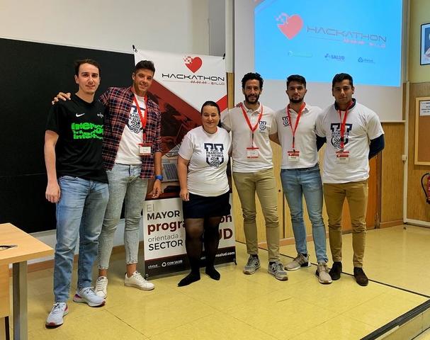 hackathon salud Alumnos, Alumni y profesores de CAFYD, Fisioterapia y Enfermería participan en el Hackathon Salud