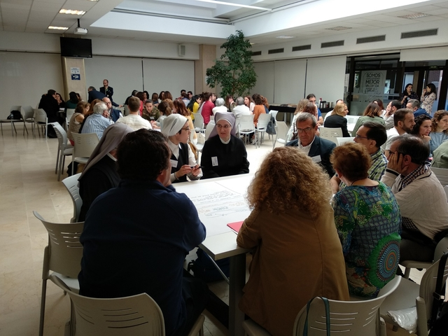 instituciones3 La UFV celebra la Jornada Anual de las Instituciones que colaboran con Acción Social Estudiar en Universidad Privada Madrid