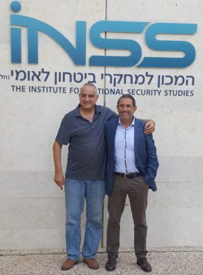 israel1 e1561460620876 Guillermo Arce visita el Institute for National Security Studies en Israel