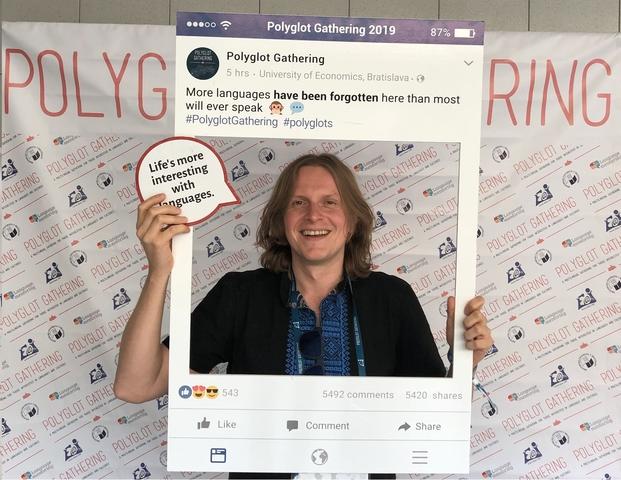 mat Easy Resize.com  Mateusz Pietraszek, ponente en el Congreso Polyglot Gathering 2019