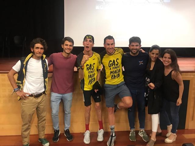 titan desert ufv2 La UFV acoge el estreno del documental Titan Desert 2019 Estudiar en Universidad Privada Madrid
