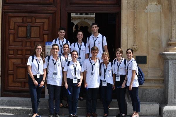 BE Viaje 2 19 La UFV y el Santander promueven la aventura europea de los 50 estudiantes más brillantes de España