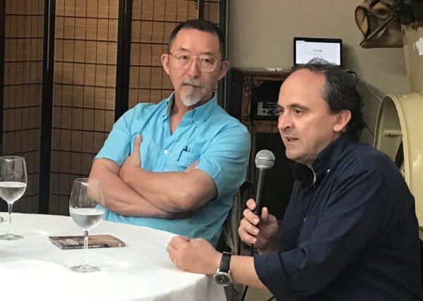 Etsuro Sotoo e1563268508457 Miembros de la Facultad de Comunicación visitan la Sagrada Familia