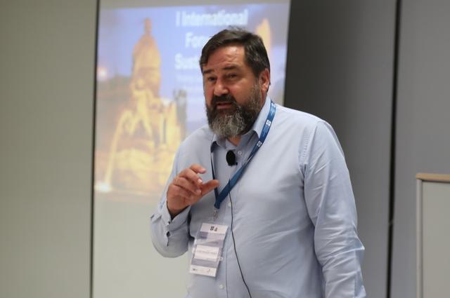 """foro sostenibilidad pelaez José María Peláez: """"Del I Foro Internacional sobre Sostenibilidad nos llevamos un ejemplo de éxito en la colaboración entre universidades y empresas"""""""