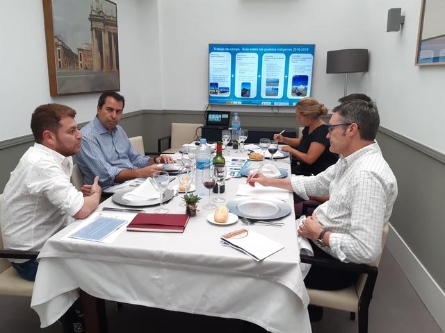 foto mesa expertos ufv La Cátedra de Inmigración UFV realiza una reunión de expertos sobre responsabilidad social corporativa y derechos humanos