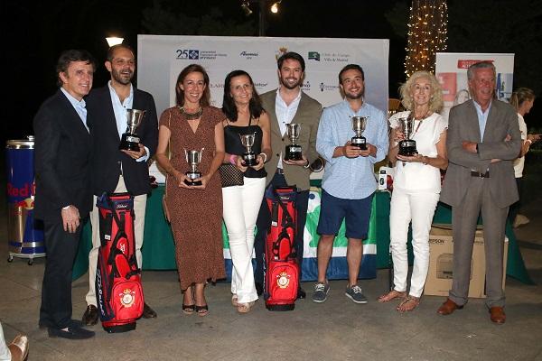 ganadores golf La Universidad Francisco de Vitoria celebra la continuidad de su programa de becas con la Federación de Golf de Madrid en el VI Torneo Solidario de Golf Alumni & Friends UFV