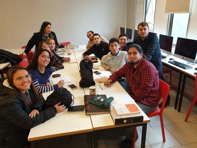 oscar estupinan Óscar Estupiñán realiza una estancia internacional en la Universidad Finis Terrae Estudiar en Universidad Privada Madrid