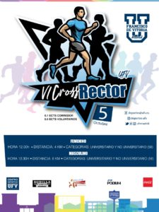 130919 225x300 El 5 de octubre llega la sexta edición del Cross Rector UFV