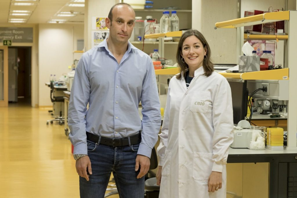 180919 1 1024x683 Almudena Chaves Pérez, alumni de la UFV, parte de la investigación de CNIO en la lucha contra el cáncer