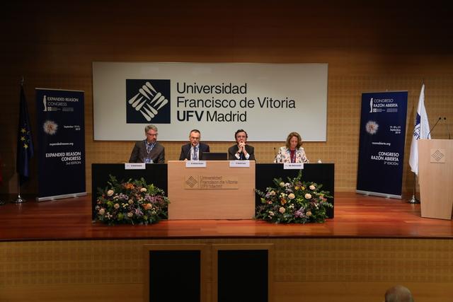 razon abierta 19 ufv La Universidad Francisco de Vitoria y la Fundación Vaticana Joseph Ratzinger Benedicto XVI inauguran el III Congreso Razón Abierta