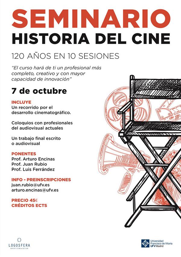 011019 6 1 La Facultad de Comunicación UFV organiza un seminario anual sobre la historia del cine