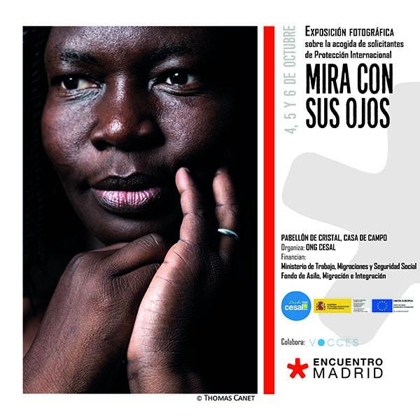01102019 2 La exposición y el libro Mira con sus ojos se podrá visitar de forma gratuita los días 4, 5 y 6 de octubre en Encuentro Madrid