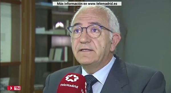 021019 2 Miguel Ortega explica en Telemadrid el Perfil del adolescente presentado por el Ayuntamiento de la capital
