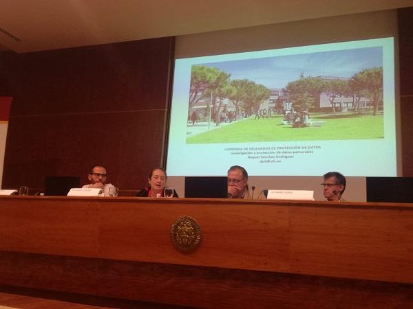 041019 2 La Universidad Francisco de Vitoria, presente en la I Jornada de Delegados de Protección de Datos de la CRUE