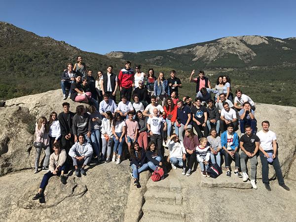 071019 19 La Facultad de Ciencias Jurídicas y Empresariales UFV organiza una jornada de team building para los alumnos de segundo