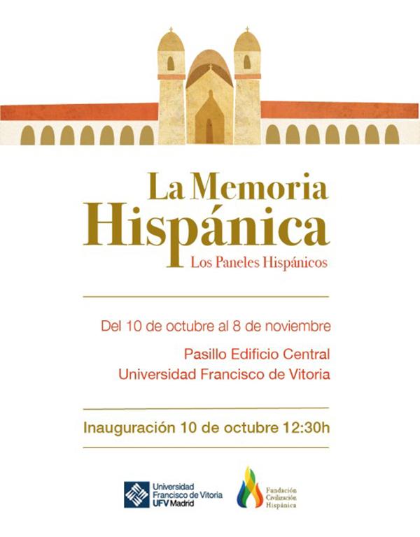071019 6 1 La exposición La memoria histórica. Los paneles hispánicos desembarca en la UFV