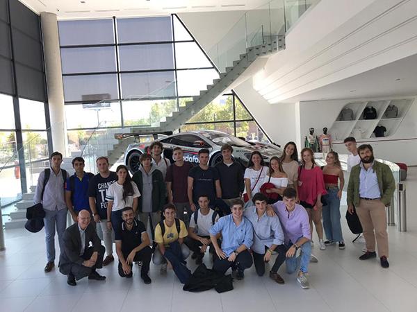 151019 4 Los alumnos de 1º de Marketing UFV tienen su primera toma de contacto con el mundo laboral de la mano de NorthGate, Opel y Arena Media Estudiar en Universidad Privada Madrid