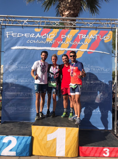 221019 12 e1571840447749 Marcos Helena, alumni de CAFYD UFV, 3º en el triatlón ICAN Gandia